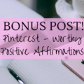 Pinterest worthy positive affirmations