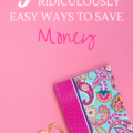 Check out these five ridiculously easy ways to save yourself some money today! I tried them and can't believe how easy it is to keep money in my pocket!