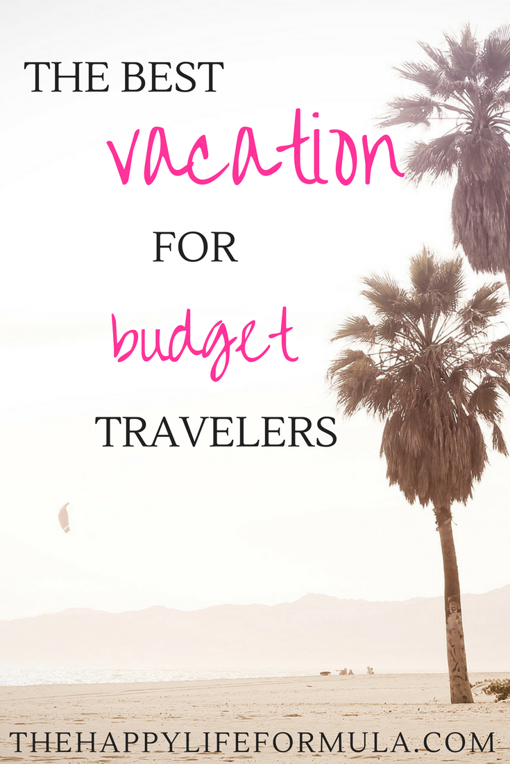 Click here to find out why an all-inclusive resort is the best vacation for budget travelers.