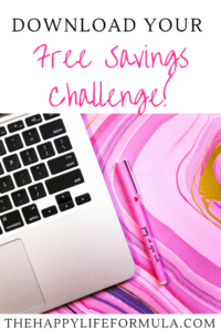 Click to download your FREE savings challenge to save $1,500 this year!