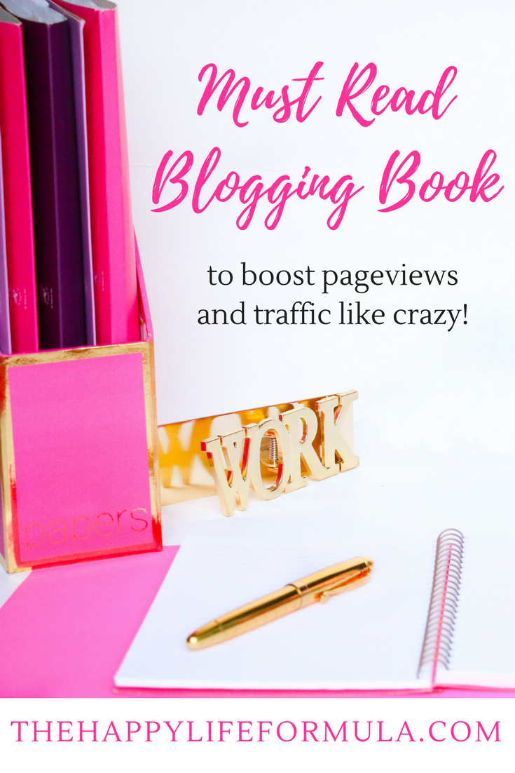 This blogging book from one of my blogging idols has helped me increase my pageviews and traffic like crazy! I can't believe it was only $25 for this amazing book jam-packed with one months of her experience, tips, and tried and true techniques.