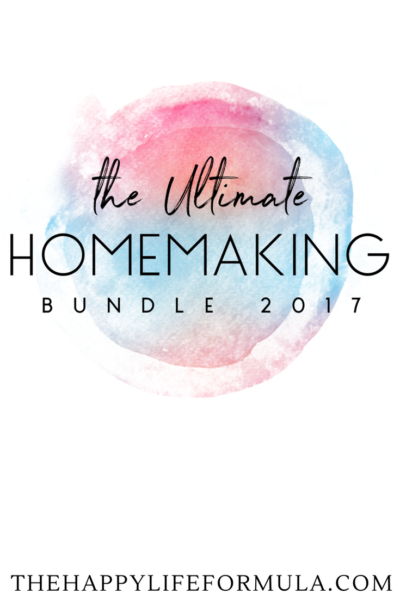 Ultimate Bundles Homemaking 2017 {Limited to April 26- May 2}