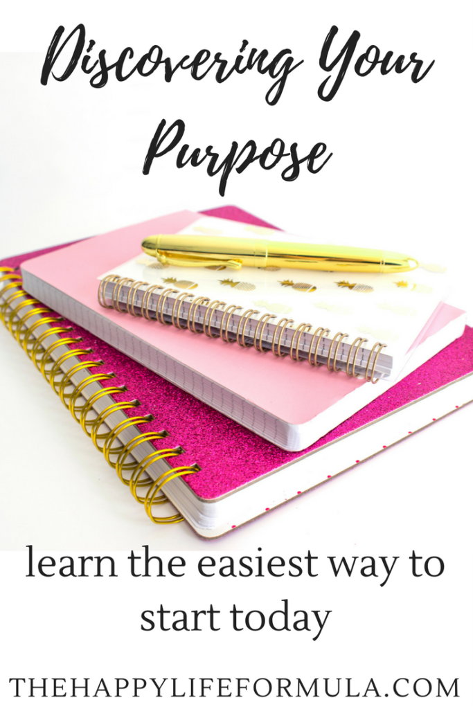 I love this easy way to start discovering my purpose! It makes so much sense and I am so happy I learned this easy way to figure out what I want to do in life. Click through to read for yourself!