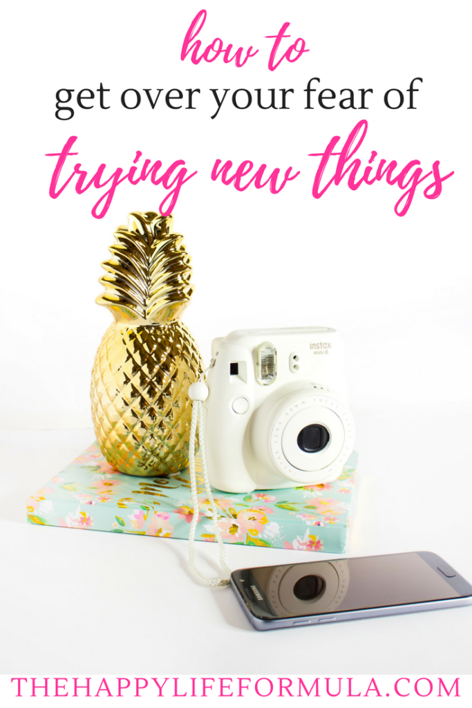 Trying new things can be really scary, but remember this: everything you do now you once had to do for the very first time! All things we do were new at once, so don't let that fear stop you from trying new things. Click through to find out how.