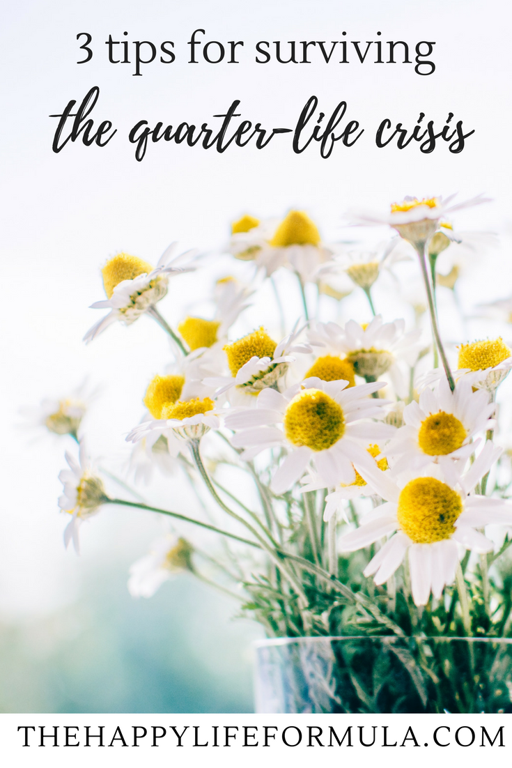 The quarter life crisis is real and it happened to me! Don't let this happen to you by checking out these awesome tips for surviving your twenties. I made it through with a lot of wisdom to share with you - click to read it!