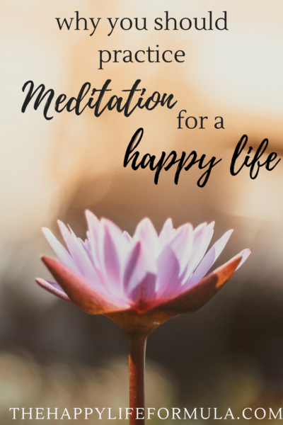 Why you need to practice meditation