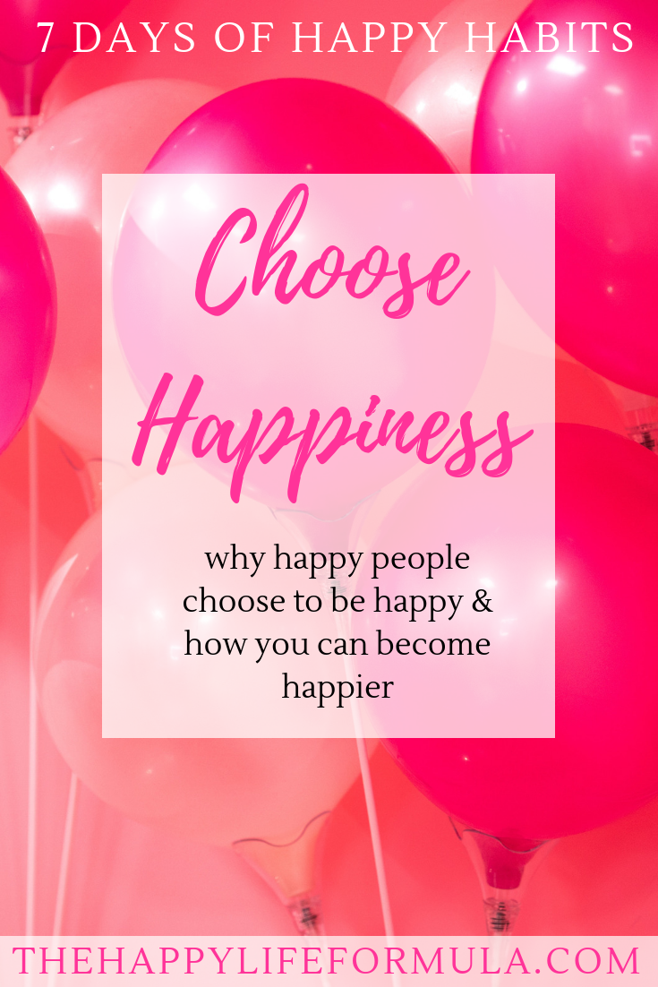 Day 7 of the 7 Days of Happy Habits! I am so glad you stumbled
